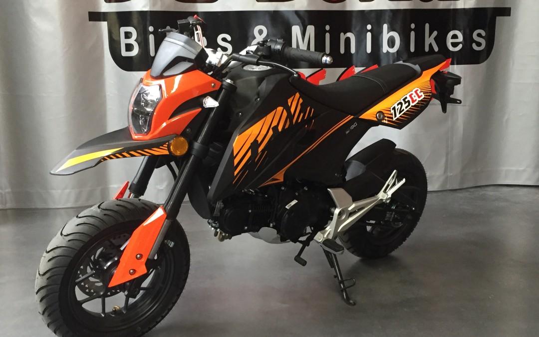 Nieuw :  URBAN 50- 125 cc   M5